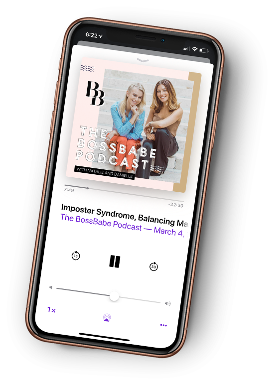 THE BOSSBABE <span></span>PODCAST
