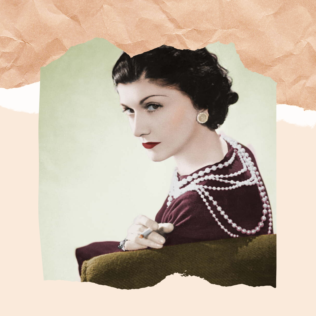 Coco Chanel portrait